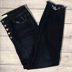NWOT KanCan Dark Wash Jeans